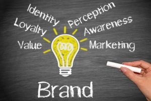 Rappresentazione grafica del potere del branding